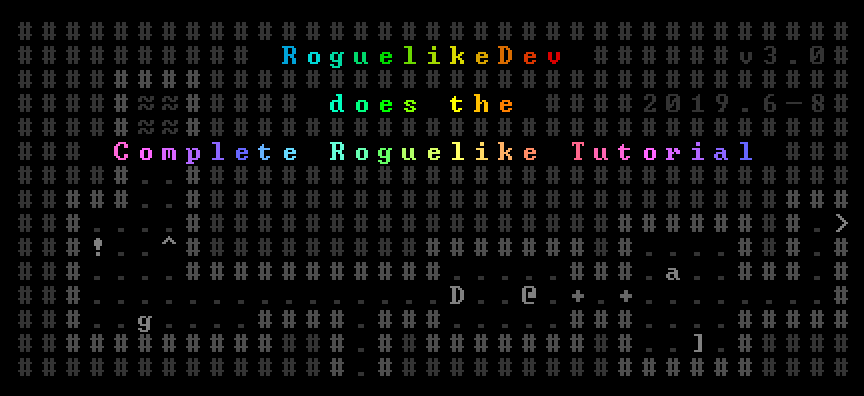 Building a Roguelike in JavaScript 2019 - part 1